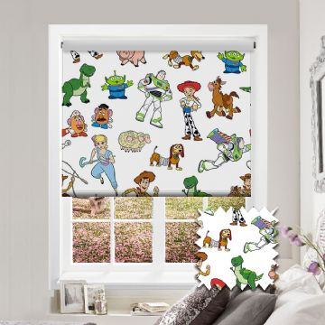Toy Story Roller Blind Patterned Disney Pixar Blackout Fabric